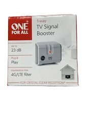 One for All TV Signal Booster Amplifier - One Way SV9601