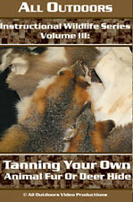 Instructional Wildlife Series Tanning Your Own Animal Fur by Alan Probst (Dvd)