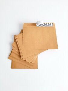 Postal A6 C6 Plain Self Seal Brown Envelopes