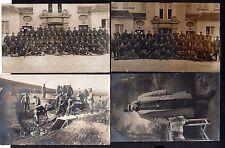 101357 4 AK Juditten Militär Soldaten Beverloo Pionier Fotokarten Feldpost 1914