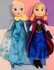 Elsa and Anna Disney Plush Dolls