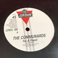 """THE COMMUNDARDS For A Friend 1988 UK 12"""" Vinyl Single EXCELLENT CONDITION"""