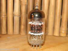 Vintage Philco 6AQ8 ECC85 Black Plate Stereo Tube 5300/4520 #57386