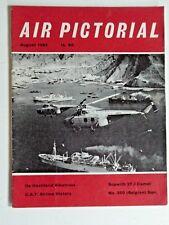 AIR PICTORIAL-AUG 1964-D.H.ALBATROSS,SOPWITH CAMEL 2F.1,350 (BELGIAN SQUADRON)