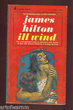 ILL WIND - adventure thriller by James Hilton  Pyramid 1964   US SB VG