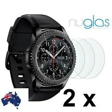 2x Genuine Nuglas screen protector for Samsung Galaxy Gear S3 Classic / Frontier