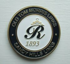 TOP QUALITY 2-IN-1 DUO MEDALLION GOLF BALL MARKER FROM ROSAPENNA GC - IRELAND.