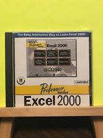 Pre-owned ~ Professor Teaches Excel 2000 (PC CD-ROM, 1999, Individual Software)