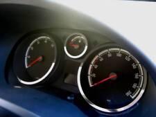 D Opel Corsa D Chrom Ringe für Tacho / Tachoringe Ringe - Edelstahl poliert