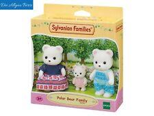 Sylvanian Families 5396 Polarbären Familie Bärenfamilie Eisbär Epoch  Neu OVP