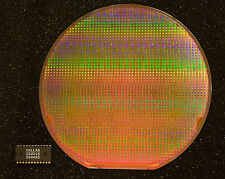 6 inch silicon wafer and chip set - DS2016 2Kx8 SRAM from Dallas Semiconductor