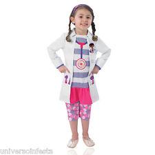 Costume Dottoressa Pelouche Licenza Disney Tg da 3 a 4 anni