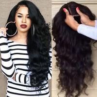 Wavy European Remy Human Hair Wig Silk Top Base Full Lace Wigs Baby Hair Around