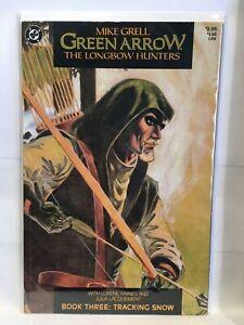 Green Arrow Longbow Hunters #3 VF- 1st Print DC Comics