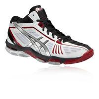 Asics Mens Gel-Volley Elite 2 MT Court Shoes Black White Sports Badminton