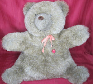 Vintage 1985 Spinoza Teddy Ruxpin Autism Therapy Plush Bear For Parts and Repair