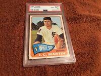 1965 Topps #382 J.C. Martin PSA 8.5, NMMT+, Chicago White Sox