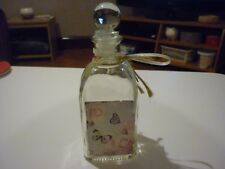 DECORATIVE GLASS BOTTLE WITH STOPPER - NEW