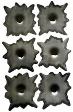 Sticker Set 6 Bullet Holes 3D Sticker 6 Einschuss Loch Aufkleber Gun Shots COOL