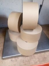 More details for reinforced gummed paper tape 70mm wide 100m roll water activated