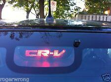 Honda CRV 3rd brake light decal overlay 2005