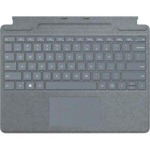Microsoft Surface Pro Signature Keyboard Ice Blue - Adjusts to virtually any ang