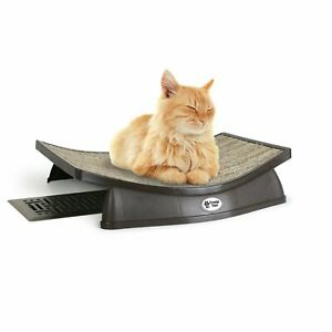 Omega Paw Lazy Lounger Curved Siesta Cat Bed