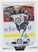 19/20 OPC...BLAKE WHEELER...CARD # 35...JETS...FREE COMBINED SHIPPING