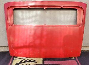 Porsche 1969-1973 911 & 1969 912 LWB Red Rear Decklid Deck Lid 91151201056