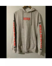 JUSTIN BIEBER STADIUM TOUR HOODIE GREY SIZE SMALL 8-10 Woman's 2017 Official