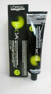 LOREAL INOA AMMONIA FREE ODS Professional Permanent Hair Color ~ 2.1 fl oz