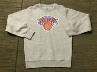 Fanatics Adult Mens Medium Sweatshirt New York Kicks NBA Gray Crew Neck