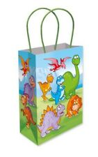 6 Dinosaur Paper Handle Bags - Toy Loot/Party Bag Fillers Childrens/Kids