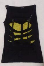 Black & Yellow Modern Top