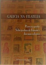 """Libro sobre sellos de correos: """"Galicia na Filatelia"""""""