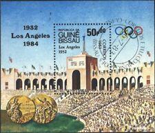 Guinea-Bissau block252 (complete issue) used 1983 Olympics Summ