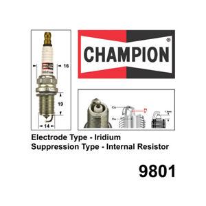Champion Iridium Spark Plug for VOLVO 960 V70 T5 XC70 XC90 T6