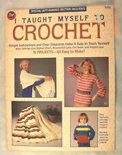 I Taught Myself To Crochet - Boye 7702 - Instructions & 16 Patterns