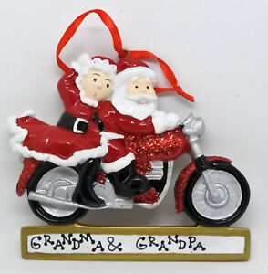Personalised Chirstmas Ornament/Decoration - Mr & Mrs Claus