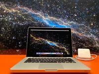 "Apple MacBook Pro 13"" Pre-Retina / CORE I7 / 16GB / 1TB SSD / GRAY / OS!"
