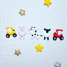 Tractor bunting farm farmyard bunting garland boy girl sign sheep pig cow felt