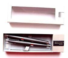 Schreibgeräteset stone grey metallic Füllhalter und Kugelschreiber Metall Online