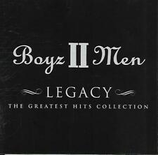 Boyz II Men - Legacy (The Greatest Hits Collection) (2002 CD Album)