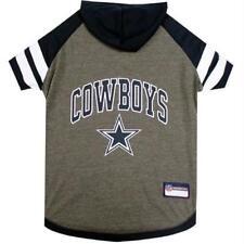 Pets First NFL Dallas Cowboys Pet Hoodie Tee Shirt L Standard