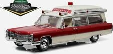 Greenlight Precision Collection 1:18 1966 Cadillac S&S High Top Ambulance