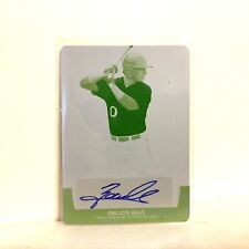 Zack Collins Auto 2017 Leaf TRINITY 1/1 Print Plate WHITE SOX Rookie Autograph