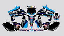 RK BLACK BLUE YAMAHA YZF 250-450 2003-2005 DECAL STICKER GRAPHIC KIT