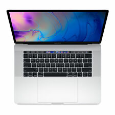 """Apple MacBook Pro 15.4"""" (256 GB, Intel Core i7 8th Gen. 4.1GHz, 16GB) Silver - MR962X/A - with TouchBar and TouchID"""