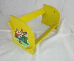 Vtg 60s Enesco Disney Snow White and the Seven Dwarves Childrens Bookshelf