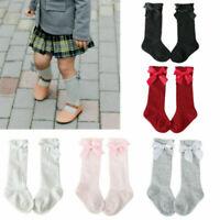 Soft Lovely Toddler Kids Baby Girl Knee High Long Warm Tights Socks Stockings AU